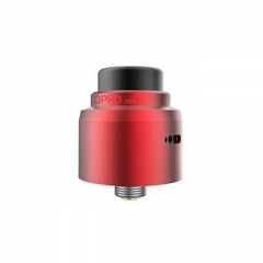 Authentic CoilART DPRO Mini 22mm RDA Rebuildable Dripping Atomizer w/BF Pin - Red