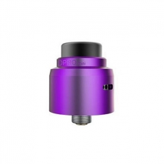 Authentic CoilART DPRO Mini 22mm RDA Rebuildable Dripping Atomizer w/BF Pin - Purple