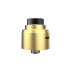 Authentic CoilART DPRO Mini 22mm RDA Rebuildable Dripping Atomizer w/BF Pin - Gold