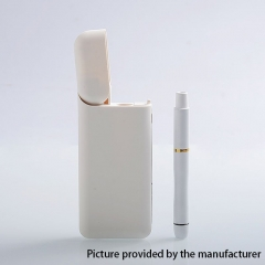 Gemei Style All-in-one Battery Mod Starter Kit with PCC 1ml - White