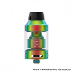 Authentic Hugsvape Lotus 24mm RTA Rebuildable Tank Atomizer 2ml/5ml - Rainbow