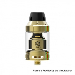 Authentic Hugsvape Lotus 24mm RTA Rebuildable Tank Atomizer 2ml/5ml - Gold