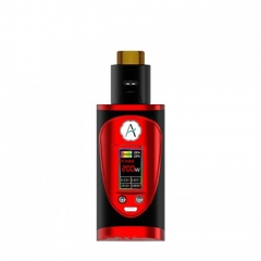 Authentic Avidvape Throne Squonker 200W TC Temperature Control VV/VW Kit - Red