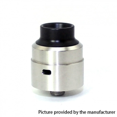 SXK Venom Atty 316SS Style RDA Rebuildable Dripping Atomizer w/BF Pin - Silver