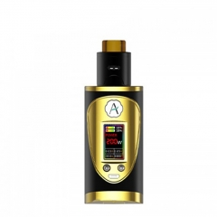 Authentic Avidvape Throne Squonker 200W TC Temperature Control VV/VW Kit - Gold