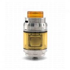 (Ships from Germany)ULTON Juggerknot Style 24mm RTA Rebuildable Tank Atomizer 6ml - Silver