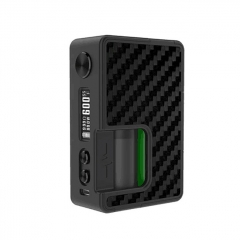 (Ships from Germany)Authentic Vandy Vape Pulse BF 80W 18650 / 20700 TC VW Squonk Box Mod w/30ml Refill Bottle/ 8ml  - Carbon Fiber 1