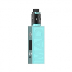 Authentic Desire Mad 108W 18650/20700 TC VW Variable Wattage Box Mod + M-Tank 3ml Kit - Blue