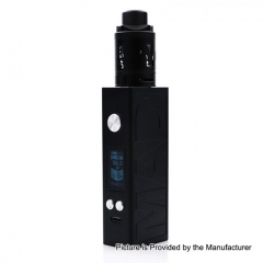 Authentic Desire Mad 108W 18650/20700 TC VW Variable Wattage Box Mod + M-Tank 3ml Kit - Black