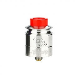 Authentic Timesvape Reverie 24mm RDA Rebuildable Dripping Atomizer w/BF Pin - Silver