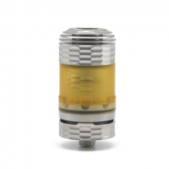 Hussar The End Style 316SS 22mm RTA Rebuildable Tank Atomizer 3.5ml - Silver