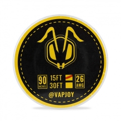 Authentic Vapjoy CSJ007 Ni90 Wire 26AWG - 15FT