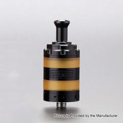 Authentic VXV Soulmate 24mm RTA Rebuildable Tank Atomizer - Black