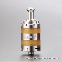Authentic VXV Soulmate 24mm RTA Rebuildable Tank Atomizer - Silver