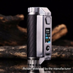 Authentic SXmini SL Class 100W SX485J 18650/20700/21700 TC VW Mod - Silver Black