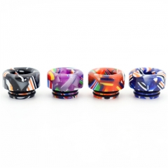 Clrane 810 Replacement Flag Style Drip Tip Short Version 1pc - Random Color
