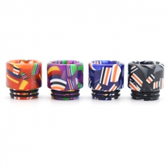 Clrane 810 Replacement Flag Style Drip Tip Long Version 1pc - Random Color