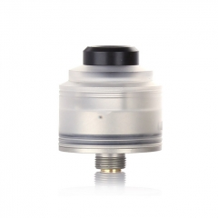 Authentic GAS Mods Nixon S 22mm RDA Rebuildable Dripping Atomizer w/BF Pin - White