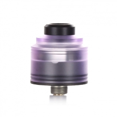 Authentic GAS Mods Nixon S 22mm RDA Rebuildable Dripping Atomizer w/BF Pin - Purple Black