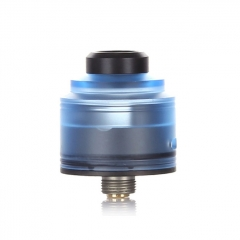Authentic GAS Mods Nixon S 22mm RDA Rebuildable Dripping Atomizer w/BF Pin - Blue Black