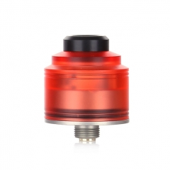 Authentic GAS Mods Nixon S 22mm RDA Rebuildable Dripping Atomizer w/BF Pin - Red Silver