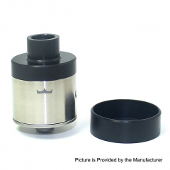 Pre-Sale SXK Monarch 22mm RDA Rebuildable Dripping Atomizer w/ BF Pin - Silver