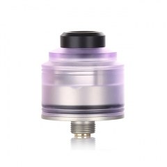 Authentic GAS Mods Nixon S 22mm RDA Rebuildable Dripping Atomizer w/BF Pin - Purple Silver