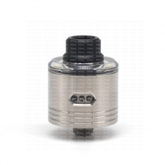 SXK Skyfall Style 316SS 22mm RDA Rebuildable Dripping Atomizer w/ BF Pin - Silver
