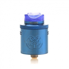 Pre-Sale Authentic Hellvape Drop Dead 24mm RDA Rebuildable Dripping Atomizer w/ BF Pin - Blue