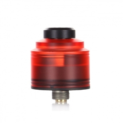 Authentic GAS Mods Nixon S 22mm RDA Rebuildable Dripping Atomizer w/BF Pin - Red Black