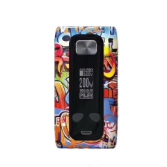 Authentic ThinkVape Thor 200W TC Temperature Control VW Box Mod - Graffiti