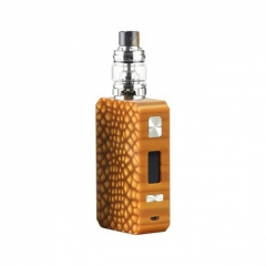 Pre-Sale Authentic Eleaf Saurobox 220W TC VW Variable Wattage Box Mod + ELLO Duro Tank 6.5ml Kit - Amber