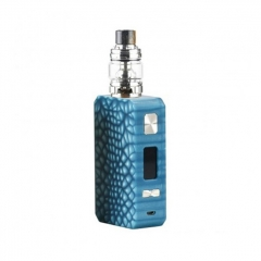 Pre-Sale Authentic Eleaf Saurobox 220W TC VW Variable Wattage Box Mod + ELLO Duro Tank 6.5ml Kit - Blue