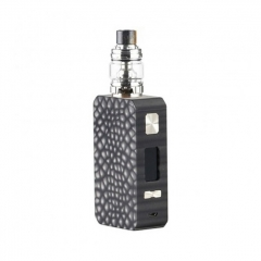 Pre-Sale Authentic Eleaf Saurobox 220W TC VW Variable Wattage Box Mod + ELLO Duro Tank 6.5ml Kit - Black