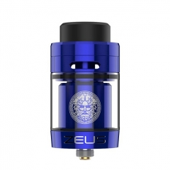 Authentic Geekvape Zeus Dual RTA 26mm Rebuildable Tank Atomizer Standard Edition 4ml - Blue