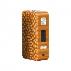 Pre - Sale Authentic Eleaf Saurobox 220W TC VW Variable Wattage Box Mod - Amber