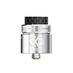 Pre-Sale Authentic Ehpro Lock 24mm RDA Rebuildable Dripping Atomizer w/BF Pin - Silver