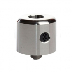 ULTON Convergent Style 22mm RDA Rebuildable Dripping Atomizer w/ BF Pin - Silver