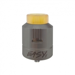 Authentic Afk Studio Easy One 24mm EDA RDA Rebuildable Dripping Atomizer - Gun Metal