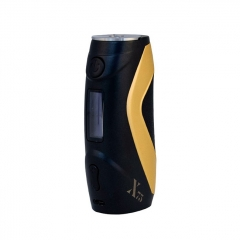 Authentic Smiss Warrior X75 75W TC VW Variable Wattage Box Mod - Black + Gold