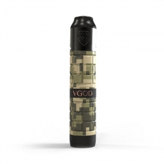 Authentic VGOD PRO Mech 2 Hybrid Mechanical Mod + Elite RDA Kit - Camouflage Green