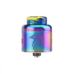 Authentic Wotofo Warrior 25mm RDA Rebuildable Dripping Atomzier w/ BF Pin - Rainbow