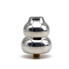 ZK HuLu Calabash 24mm RDA Rebuildable Dripping Atomizer w/ BF Pin  - Silver