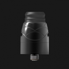 Pre-Sale Authentic Hugsvape Theseus 22mm RDA Rebuildable Dripping Atomizer w/ BF Pin - Black