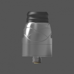 Pre-Sale Authentic Hugsvape Theseus 22mm RDA Rebuildable Dripping Atomizer w/ BF Pin - Gun Metal
