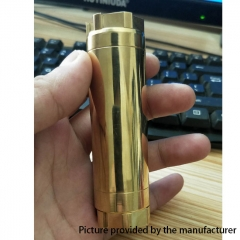 AV Kane Style Competition 20700 Hybrid Mechanical Mod 30mm - Brass