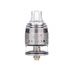 Pre-Sale Authentic Vapefly Galaxies 22mm MTL Squonk RDTA Rebuildable Dripping Tank Atomizer w/ BF Pin 2ml - Silver