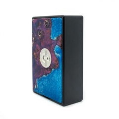 Authentic Asmodus EOS 180W Touch Screen TC VW Variable Wattage Stablized Wood Box Mod - Blue