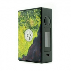 Authentic Asmodus EOS 180W Touch Screen TC VW Variable Wattage Stablized Wood Box Mod - Green