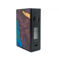 Authentic Asmodus EOS 180W Touch Screen TC VW Variable Wattage Stablized Wood Box Mod - Purple